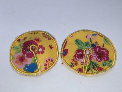 Sonedpad Geel met bloemen