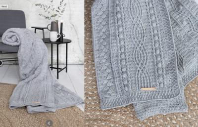 Haakplein CAL2020 Twisted Haakpakket van DMC Knitty 4 - Grijs