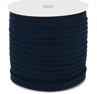 Dox Biaisband katoen 14mm blauw - 150m