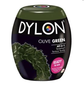 Dylon Pods Textielverf Machinewas Olive Green