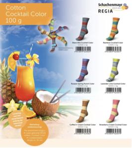 OP = OP SMC Regia sokkengaren zonder wol COCKTAIL Cotton, sokkenwol schachenmayr
