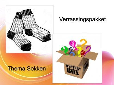 Verrassing pakket thema Sokken