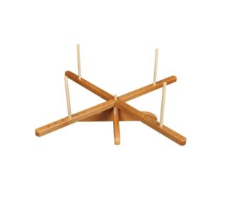 GhiaoGoo parapluhaspel hout 155 cm