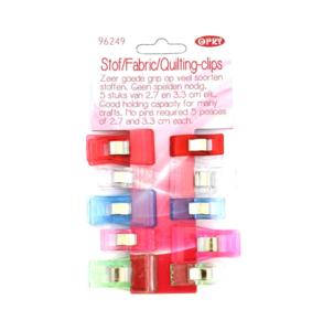 Opry Stof quilting clips 27-33mm  10 stuks