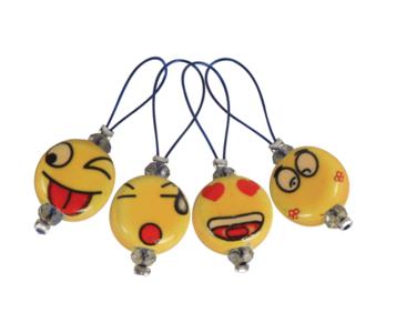 KnitPro Stekenmarkeerders Smileys